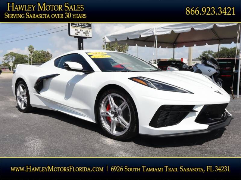 2022 Chevrolet Corvette for sale at Hawley Motor Sales in Sarasota FL