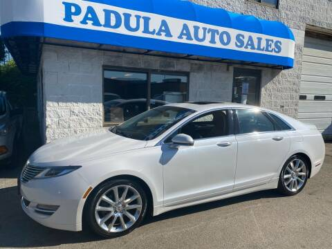 2014 Lincoln MKZ for sale at Padula Auto Sales in Braintree MA