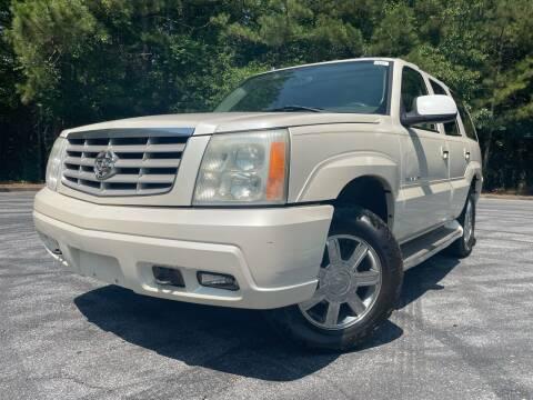 2005 Cadillac Escalade for sale at El Camino Auto Sales - Global Imports Auto Sales in Buford GA