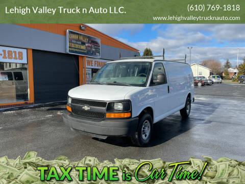 2008 Chevrolet Express Cargo for sale at Lehigh Valley Truck n Auto LLC. in Schnecksville PA
