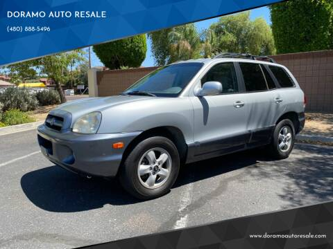 2006 Hyundai Santa Fe for sale at DORAMO AUTO RESALE in Glendale AZ