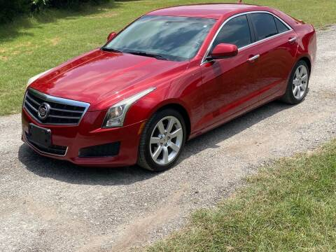2013 Cadillac ATS for sale at The Car Shed in Burleson TX