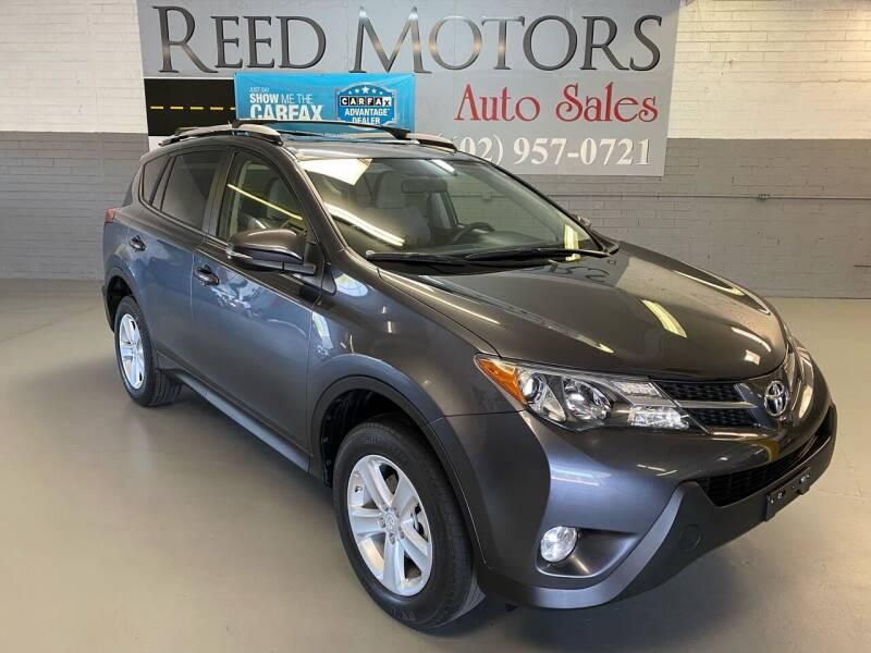 2014 Toyota RAV4 for sale at REED MOTORS LLC in Phoenix AZ