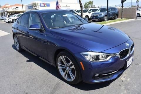 2016 BMW 3 Series for sale at DIAMOND VALLEY HONDA in Hemet CA