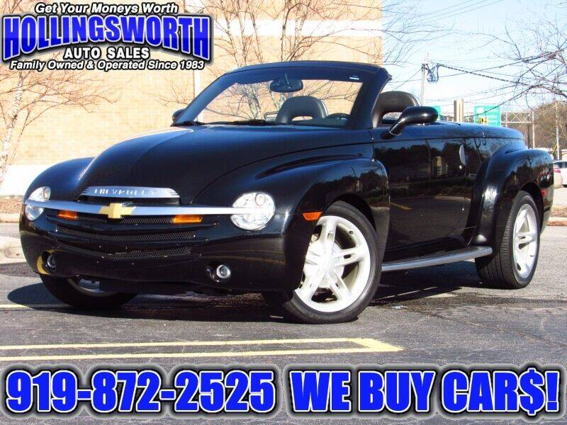 2005 Chevrolet SSR for sale at Hollingsworth Auto Sales in Raleigh NC