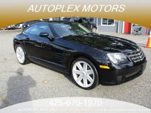 2007 Chrysler Crossfire for sale at Autoplex Motors in Lynnwood WA