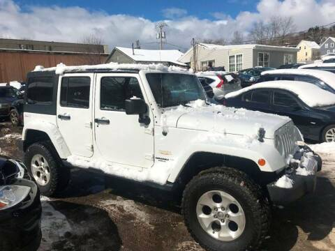 2013 Jeep Wrangler Unlimited for sale at Top Line Import of Methuen in Methuen MA