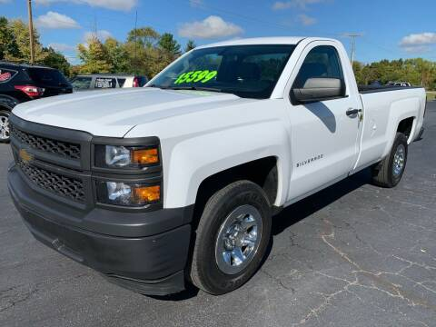 2014 Chevrolet Silverado 1500 for sale at FREDDY'S BIG LOT in Delaware OH