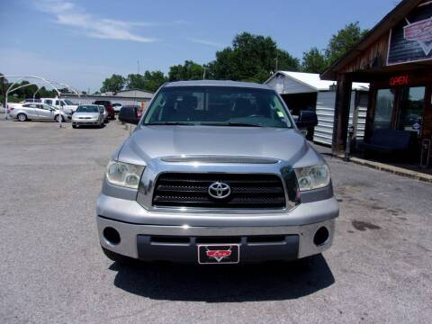 2007 Toyota Tundra for sale at LEE AUTO SALES in McAlester OK