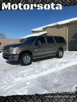 2003 Ford Excursion for sale at Motorsota in Becker MN