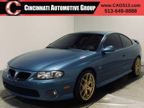 2004 Pontiac GTO for sale at Cincinnati Automotive Group in Lebanon OH