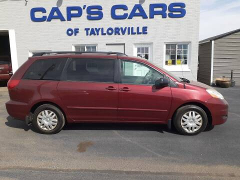 2008 Toyota Sienna for sale at Caps Cars Of Taylorville in Taylorville IL