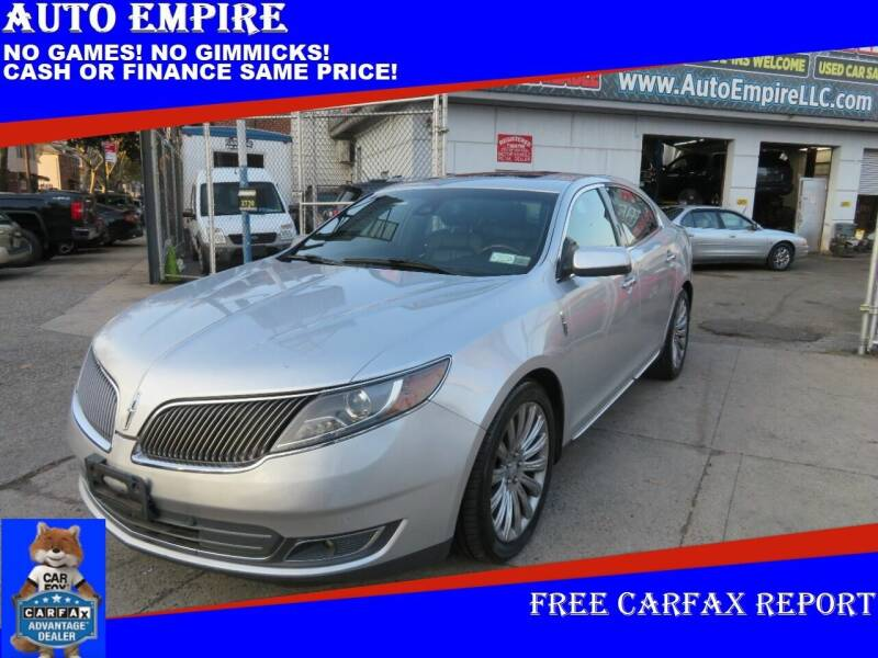 2013 Lincoln MKS for sale at Auto Empire in Brooklyn NY