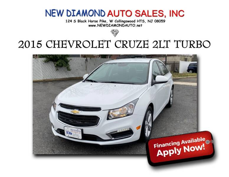 2015 Chevrolet Cruze for sale at New Diamond Auto Sales, INC in West Collingswood NJ