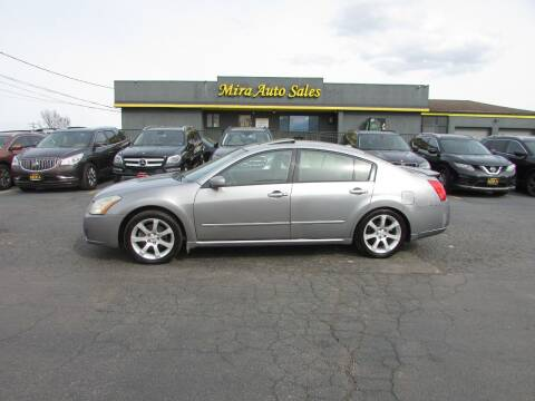 2008 Nissan Maxima for sale at MIRA AUTO SALES in Cincinnati OH