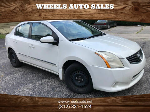 2010 Nissan Sentra for sale at Wheels Auto Sales in Bloomington IN