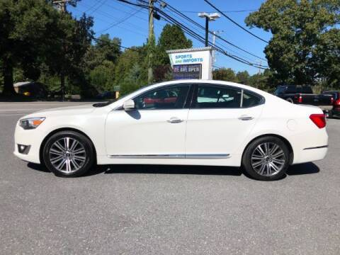 2015 Kia Cadenza for sale at Sports & Imports in Pasadena MD