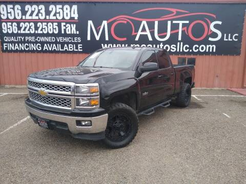 2014 Chevrolet Silverado 1500 for sale at MC Autos LLC in Pharr TX