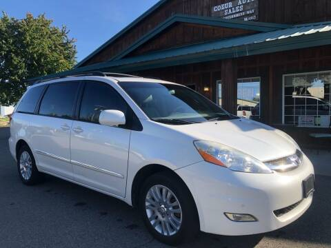 2007 Toyota Sienna for sale at Coeur Auto Sales in Hayden ID