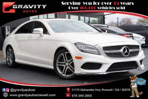 2015 Mercedes-Benz CLS for sale at Gravity Autos Roswell in Roswell GA