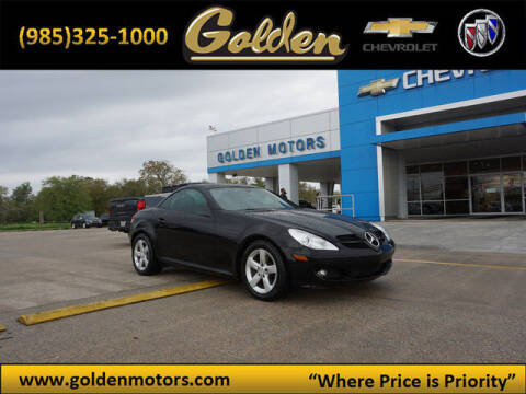 2006 Mercedes-Benz SLK for sale at GOLDEN MOTORS in Cut Off LA