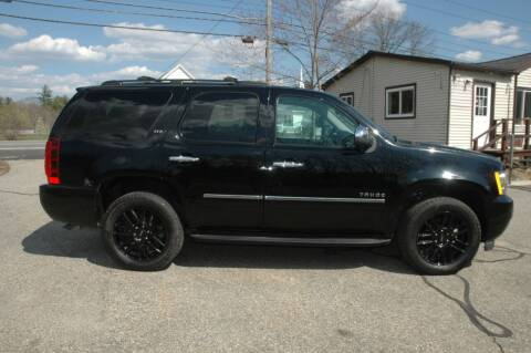 2012 Chevrolet Tahoe for sale at Bruce H Richardson Auto Sales in Windham NH
