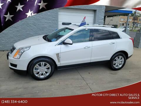 2011 Cadillac SRX for sale at Motor City Direct Auto Sales & Service in Pontiac MI