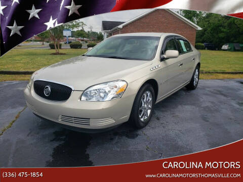 2007 Buick Lucerne for sale at CAROLINA MOTORS in Thomasville NC