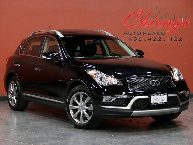 2017 Infiniti QX50 for sale at Chicago Auto Place in Bensenville IL
