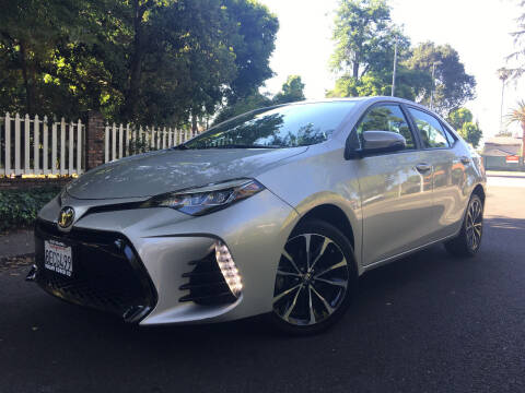2018 Toyota Corolla for sale at Valley Coach Co Sales & Lsng in Van Nuys CA
