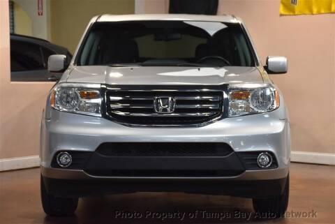 2015 Honda Pilot for sale at Tampa Bay AutoNetwork in Tampa FL