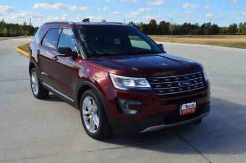 2016 Ford Explorer for sale at Fincher's Texas Best Auto & Truck Sales in Tomball TX