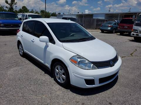 2007 Nissan Versa for sale at Jamrock Auto Sales of Panama City in Panama City FL