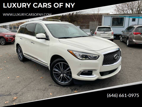 2017 Infiniti QX60 for sale at LUXURY CARS OF NY in Queens NY