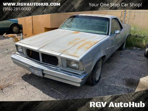 1979 Chevrolet El Camino for sale at RGV AutoHub in Harlingen TX