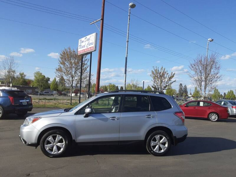 2015 Subaru Forester for sale at New Deal Used Cars in Spokane Valley WA