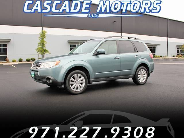 2011 Subaru Forester for sale at Cascade Motors in Portland OR