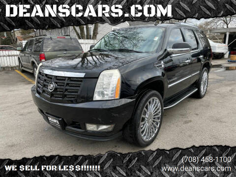 2007 Cadillac Escalade for sale at DEANSCARS.COM in Bridgeview IL