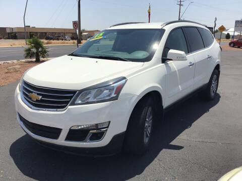 2015 Chevrolet Traverse for sale at SPEND-LESS AUTO in Kingman AZ