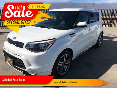 2016 Kia Soul for sale at Soledad Auto Sales in Soledad CA