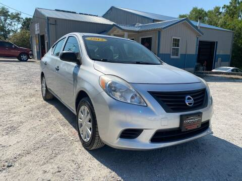 2012 Nissan Versa for sale at Community Auto Sales & Service in Fayette MO