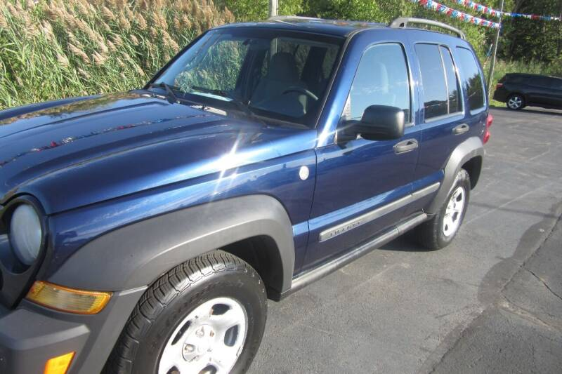 2007 Jeep Liberty for sale at Burgess Motors Inc in Michigan City IN
