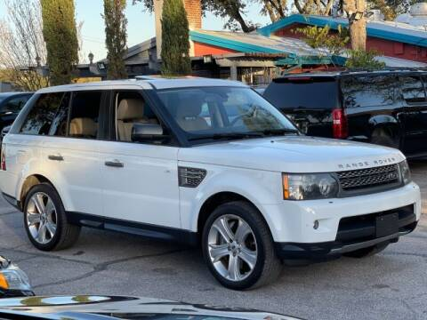 2011 Land Rover Range Rover Sport for sale at AWESOME CARS LLC in Austin TX