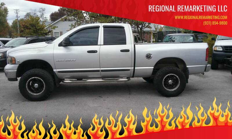 2005 Dodge Ram Pickup 2500 for sale at Regional Remarketing LLC in Cookeville TN