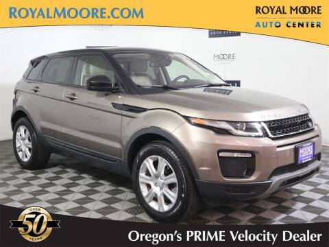2018 Land Rover Range Rover Evoque for sale at Royal Moore Custom Finance in Hillsboro OR