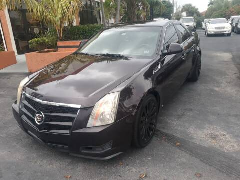 2009 Cadillac CTS for sale at LAND & SEA BROKERS INC in Deerfield FL