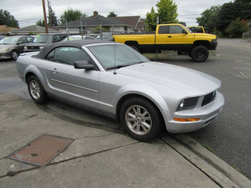 2007 Ford Mustang for sale at Car Link Auto Sales LLC in Marysville WA