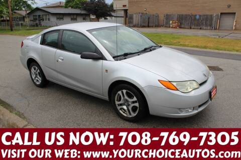 2004 Saturn Ion for sale at Your Choice Autos in Posen IL