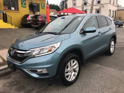 2016 Honda CR-V for sale at Drive Deleon in Yonkers NY
