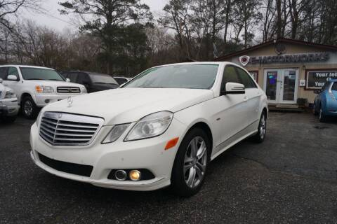 2011 Mercedes-Benz E-Class for sale at E-Motorworks in Roswell GA
